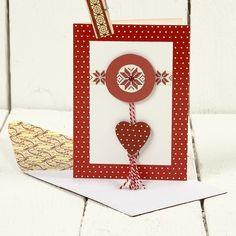 12808 A Christmas Card with Vivi Gade Design