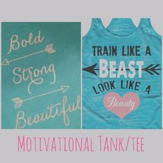 Blog — luxe|wise Top 10 Fitness Gifts for 2015 - motivational tanks for workout gear