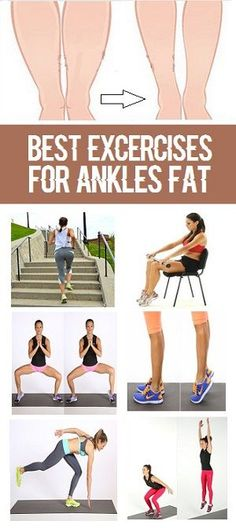 8 Most Effective Exercises To Reduce Womens Ankles Fat
