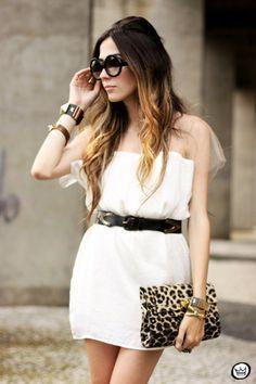 white Displicent dress