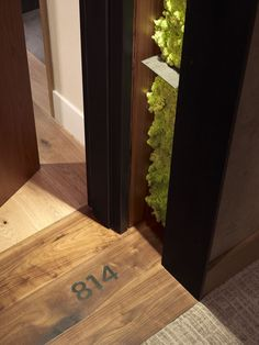 Instead of having a common design around the world, we could develop this idea of signage on the floor, and transfer it to our hotel in Bali. In addition, the fact that there are plants on the side of the entrance, gives a positive feeling.