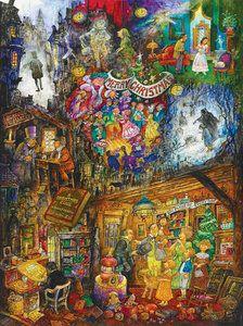 A Christmas Carol (1000 Piece Puzzle by SunsOut)