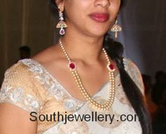 simple pearls mala #Indian #Jewellery