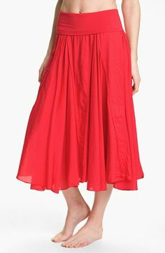 Hard Tail 'Voile' Long Skirt