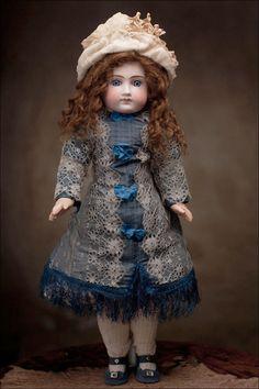 Antique French Type Belton type German Doll, c.1890