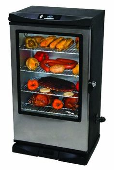 Masterbuilt 20070312 30-Inch Front Controller Electric Smoker with Window and RF Controller Masterbuilt http://www.amazon.com/dp/B007ZTN01K/ref=cm_sw_r_pi_dp_I5HHub038KHAB