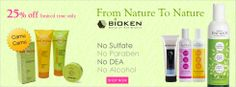 Save 25% on Bioken Skin & Hair Care Products www.aonebeauty.com/brands/Bioken/
