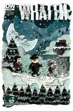 Phantom Cover Wraith: Welcome to Christmasland Christmas Horror Movies, Nos4a2, Snow Monster, Horror Comics, Childhood Cancer, Winter Wonder, Antique Christmas, Comic Book Covers, Nightmare Before Christmas