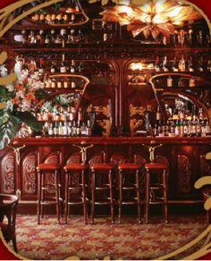 Art Nouveau Interiors | Original interior Art Nouveau style. The next two images could fall ...
