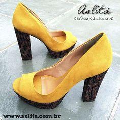 Sapatos lindos e confortáveis: Compre online: www.aslita.com.br  #OfflineCalcados #AslitaModa #SaltoAlto Visite nossa loja: Av. da Aclimação, 884 #Aclimação ☎️ 11 5078-9703