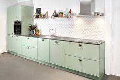 Double Vanity, Kitchen Design, Kitchen Cabinets, Bathroom, Home Decor, Julie, Vans, Yellow, Google