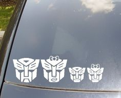Autobots Family Car Sticker Now with by KellyCreationDecals, $11.50