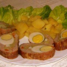 szűzpecsenye receptek | NOSALTY Jamie Oliver, Penne, Fresh Rolls, Meat Recipes, Baked Potato, Sushi, Bacon, Pork, Potatoes