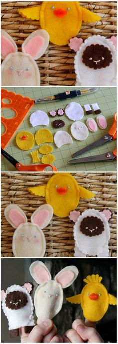 Easter Finger Puppets / Kids & Baby | Fiskars