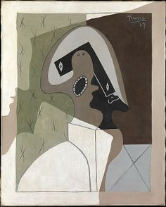 Harlequin. 1927. Oil on canvas.  32 x 25.5/8in. (81.3 x 65.1) Pablo Picasso (Spanish, Malaga 1881–1973 Mougins, France)