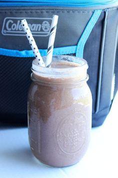 Simple Superfood Chocolate Shake - perfect way to bust sugar cravings!