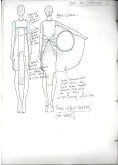 "Fashion Sketchbook - fashion design for knitwear development, fashion drawings & notes; fashion portfolio // ""Lost,"" Adele Parker"