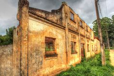 Old glue factory Fonseca, in Ponta Grossa, Brazil