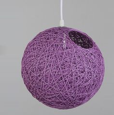 replace for your existing ceiling pendant light with Rattan Woven Ceiling Pendant Lampshade by Wicker,Our 8 Round Wicker Rattan Lampshade Purple updated your living room brilliantly Ceiling Pendant, Pendant Lights, Rattan, Wicker, Purple Rooms, Lampshades, Light Shades, Christmas Bulbs, Colorful