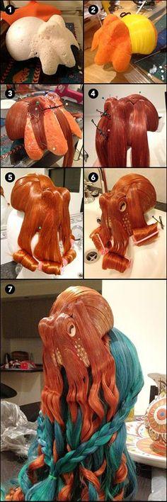 Octopus hair - Steampunk