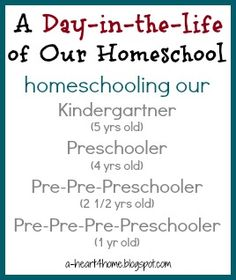 Check out Our (Practically) Free Kindergarten & Preschool Learning Plans. Since we'll be homeschooling ourKindergartnerthis year as well as teaching, training, and taking care of three younger siblings, we know that we need to keep our learning plans simple and fun. We've decided to focus on three to four subjects each day. Bible, Math, and ...Click Here to Keep Reading...