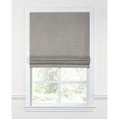 """Loom Decor Linen Blend Flat Roman Shade Length: 64"""", Width: 23"""""""