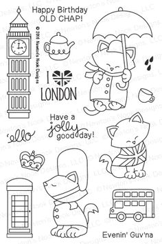 I've been doing a bit of London dreaming myself.. ;)