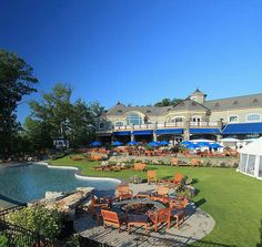 Saratoga National Golf Club is a beautiful award-winning public golf course in Saratoga Springs, NY Public Golf Courses, Nautical Wedding, Golf Clubs, Dolores Park, Dream Wedding, Mansions, House Styles, Hospitality, Places