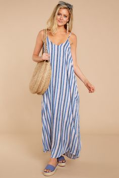 Discover the best maxi dresses for sale at Red Dress Boutique. Find gorgeous maxi dress outfits in a variety of colors and print styles. Best Maxi Dresses, Striped Maxi Dresses, Floral Maxi Dress, Dresses For Sale, Dress Outfits, Casual Outfits, Summer Dresses, Casual Clothes, Work Outfits