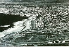 A Great photo of the South Bay 1936ish. The Hollywood Riviera Beach club is center left. Unknown Photographer.
