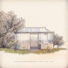 https://flic.kr/p/T6nhei | [ keke ] old garden greenhouse . white |  ★ click to [ keke ] ★  and MP