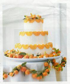 Orlando Southern Wedding Inspiration | The Amazing Citrus Wedding Cake
