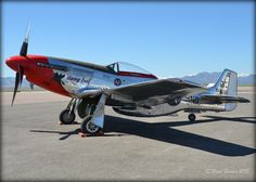 """""""Stang Evil"""" from this last Sunday at Rocky Mountain Metropolitan Airport on (03/29/2015)."""