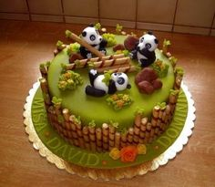 Chocolate cake for kids