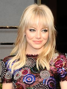 Emma best hair moments: edgy bangs