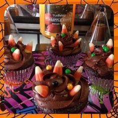 Cupcakes I made for Halloween