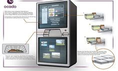 A fridge of the future that tells you what to cook with your left-overs and automatically re-orders fresh food is being designed in the UK. The self-cleaning 'fridge of the future' will automatically place supermarket home delivery orders when required and move food near its use by date to the front of the shelves.