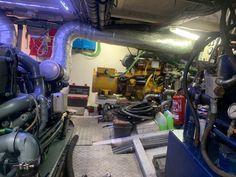Proyecto Agresa Manresa_ Barco de pesca_instalación de un grupo electrógeno // Agresa Manresa Project_ fishing boat_installation of a generator set// Agresa Manresa Project_ bateau de pêche_installation d'un groupe électrogène.