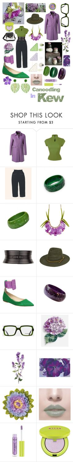 """""""Canoodling In Kew"""" by ggaileen ❤ liked on Polyvore featuring Gucci, Mary Quant, Alaïa, Attico, Cutler and Gross, Dolce&Gabbana and Mercedes Salazar"""