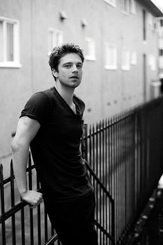 Sebastian Stan. The latest in my ever-growing list of favorite pretty people at whom to stare mesmerized.