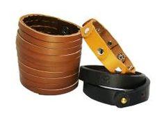 Sakhi Styles Men's Genuine Leather Bracelet Combo Pack of 3 pcs_158