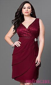 Shop Simply Dresses for homecoming party dresses 2015 prom dresses evening gowns cocktail dresses formal dresses casual and career dresses. - Plus Size Party Dresses - Ideas of Plus Size Party Dresses Plus Size Cocktail Dresses, Plus Size Party Dresses, Plus Size Dresses, Semi Formal Dresses, Short Dresses, Dresses Dresses, Prom Dresses 2015, Prom Gowns, Formal Prom
