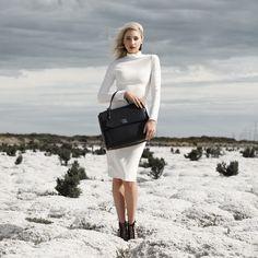 Image of Mariarosa Large Tote - Black PRE ORDER Large Tote, All Things, Dresses For Work, Australia, Image, Black, Fashion, Moda, Black People