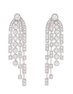 Chanel Joaillerie boucles d'oreilles Fontaine http://www.vogue.fr/joaillerie/shopping/diaporama/pendants-du-soir-1/10881/image/650044