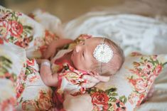 Floral maternity robe for delivery feeding child by comfymommy
