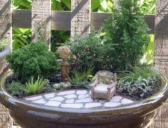 Fairy Garden - Miniature Garden Bowl