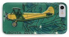 Polikarpov Po 2 IPhone 7 Case featuring the mixed media Ussr Airplane Polikarpov Po 2 by The Griffin Passant