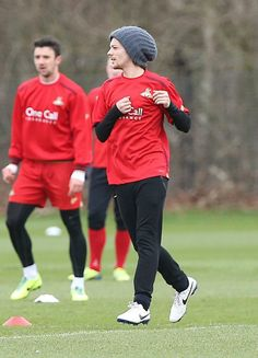 Louis training with Doncaster Rovers