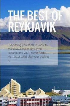 18 awesome things to do in Reykjavik, Iceland #whattodoinreykjavik #hoteliceland #fosshotel