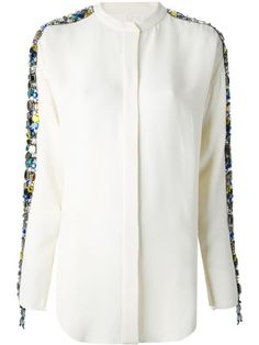 Shop Chloé embellished shirt in Al Ostoura from the world's best independent boutiques at farfetch.com. Shop 300 boutiques at one address.